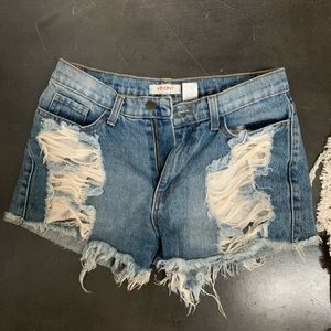 VIBRANT MIU shorts